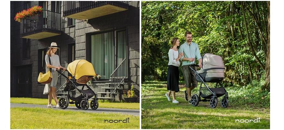 фото детской коляски noordi